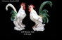 Jeanne Reed's - Rooster Pair