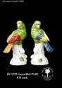 Jeanne Reed's - Green Bird Pair