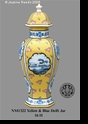 Jeanne Reed's - Yellow & Blue Delft Jar