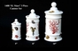 "Jeanne Reed's - ""IL Mare"" 3 pc Canister Set"