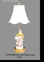 Jeanne Reed's - Lamp - Girl w/goose
