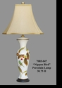 "Jeanne Reed's - ""Nippon Bird"" Porcelain Lamp"