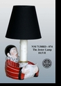 "Jeanne Reed's - ""The Jester"" Lamp - Red"