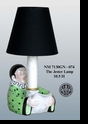 "Jeanne Reed's - ""The Jester"" Lamp - Green"