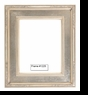 Picture Frames - Oil Paintings & Watercolors - Frame Style #1225 - 24X36 - Silver