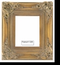 Picture Frames - Oil Paintings & Watercolors - Frame Style #1226 - 8X10 - Antique Gold