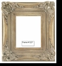Picture Frames - Oil Paintings & Watercolors - Frame Style #1227 - 20X24 - Silver