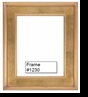 Picture Frames - Oil Paintings & Watercolors - Frame Style #1230 - 12X16 - Traditional Gold