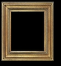 Art - Picture Frames - Oil Paintings & Watercolors - Frame Style #602 - 24x36 - Antique Gold - Gold  Frames