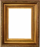 Wall Mirrors - Mirror Style #329 - 12x24 - Traditional Gold
