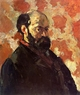 Art - Oil Paintings - Masterpiece #4016 - Paul Cezanne - Self Portrait on a Rose Background - Gallery Quality