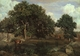 Art - Oil Paintings - Masterpiece #4019 - Jean Baptiste Camille Corot - Forest of Fontainebleau - Museum Quality