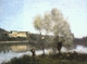 Art - Oil Paintings - Masterpiece #4023 - Jean Baptiste Camille Corot - Ville d'Avray - Museum Quality