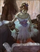 Art - Oil Paintings - Masterpiece #4051 - Edgar Degas - Before the Entrance on Stage - Museum Quality