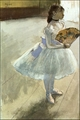 Art - Oil Paintings - Masterpiece #4053 - Edgar Degas - Dancer with a Fan - Gallery Quality