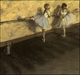 Art - Oil Paintings - Masterpiece #4054 - Edgar Degas - Dancers Practicing at the Barre - Gallery Quality