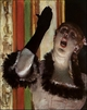Art - Oil Paintings - Masterpiece #4066 - Edgar Degas - Singer With a Glove - Gallery Quality