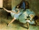 Art - Oil Paintings - Masterpiece #4067 - Edgar Degas - Before the Ballet - Gallery Quality