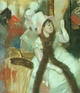 Art - Oil Paintings - Masterpiece #4086 - Edgar Degas - Portrait after a Costume Ball - Gallery Quality