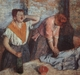 Art - Oil Paintings - Masterpiece #4097 - Edgar Degas - Laundry Maids - Gallery Quality