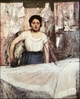 Art - Oil Paintings - Masterpiece #4098 - Edgar Degas - A Woman Ironing - Gallery Quality