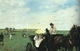 Art - Oil Paintings - Masterpiece #4105 - Edgar Degas - At the Races in the Country - Gallery Quality