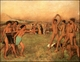 Art - Oil Paintings - Masterpiece #4110 - Edgar Degas - The Young Spartans Exercising - Gallery Quality