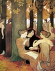 Art - Oil Paintings - Masterpiece #4117 - Maurice Denis - The Muses in the Sacred Wood - Gallery Quality