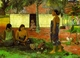 Art - Oil Paintings - Masterpiece #4122 - Paul Gauguin - Why Are You Angry ? - Gallery Quality