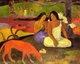 Art - Oil Paintings - Masterpiece #4123 - Paul Gauguin - Making Merry8 - Museum Quality