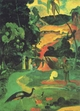 Art - Oil Paintings - Masterpiece #4132 - Paul Gauguin - Landscape with Peacocks - Gallery Quality