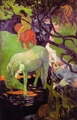 Art - Oil Paintings - Masterpiece #4133 - Paul Gauguin - The White Horse r - Museum Quality