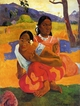 Art - Oil Paintings - Masterpiece #4135 - Paul Gauguin - When Will You Marry ? - Gallery Quality