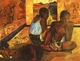 Art - Oil Paintings - Masterpiece #4137 - Paul Gauguin - Daydreaming - Museum Quality