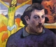 Art - Oil Paintings - Masterpiece #4145 - Paul Gauguin - Self Portrait with Yellow Christ - Gallery Quality