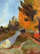Art - Oil Paintings - Masterpiece #4147 - Paul Gauguin - The Alyscamps at Arles - Gallery Quality