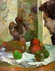Art - Oil Paintings - Masterpiece #4154 - Paul Gauguin - Still Life with Profile of Laval - Museum Quality