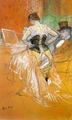 """Art - Oil Paintings - Masterpiece #4179 - Henri Toulouse-Lautrec - Woman in a Corset (Study for """"Elles"""") - Gallery Quality"""