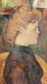 Art - Oil Paintings - Masterpiece #4190 - Henri Toulouse-Lautrec - The Painter's Model : Helene Vary in the Studio - Gallery Quality