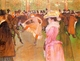 Art - Oil Paintings - Masterpiece #4191 - Henri Toulouse-Lautrec - Training of the New Girls by Valentin at the Moulin Rouge - Museum Quality