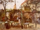 Art - Oil Paintings - Masterpiece #4194 - Vincent Van Gogh - Terrace of the Cafe on Montmartre - Museum Quality