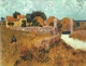 Art - Oil Paintings - Masterpiece #4195 - Vincent Van Gogh - Farmhouse in Provence - Gallery Quality