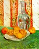 Art - Oil Paintings - Masterpiece #4205 - Vincent Van Gogh - Still Life with Decanter and Lemons on a Plate - Gallery Quality