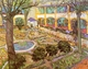 Art - Oil Paintings - Masterpiece #4210 - Vincent Van Gogh - The Courtyard of the Hospital in Arles - Gallery Quality