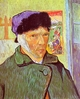 Art - Oil Paintings - Masterpiece #4217 - Vincent Van Gogh - Self Portrait With Bandaged Ear - Gallery Quality