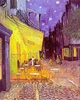 Art - Oil Paintings - Masterpiece #4224 - Vincent Van Gogh - The Cafe Terrace on the Place du Forum, Arles, at Night - Museum Quality