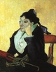 Art - Oil Paintings - Masterpiece #4230 - Vincent Van Gogh - Madame Ginoux with Gloves and Umbrella - Museum Quality