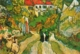Art - Oil Paintings - Masterpiece #4259 - Vincent Van Gogh - Village Street and Steps in Auvers with Figures - Museum Quality