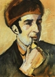 Art - Oil Paintings - Masterpiece #4269 - August Macke - Portrait of Franz Marc - Gallery Quality