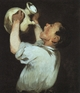 Art - Oil Paintings - Masterpiece #4274 - Edouard Manet - Boy with a Pitcher - Museum Quality